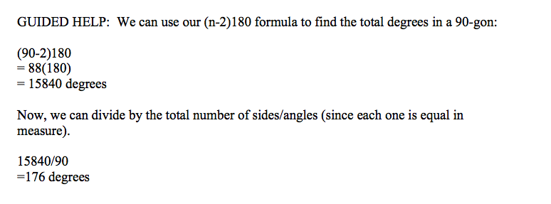 A 5 patterns in polygons pre algebra - Total exterior angles of a polygon ...