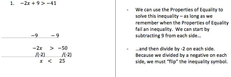 H-4: Solving Multi-Step Inequalities | Pre-Algebra