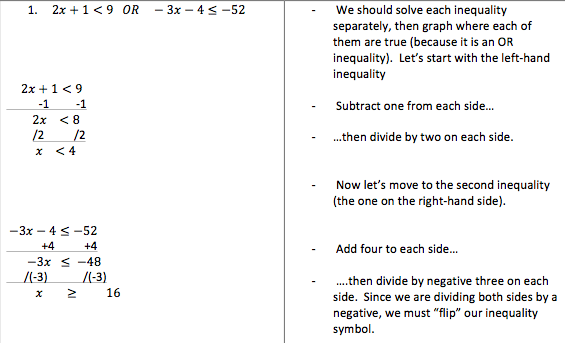 H-5: Compound Inequalities   Pre-Algebra