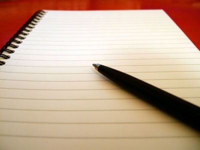 Staring At A Blank Piece Of Paper | Writing On The Sidewalk regarding Blank Paper To Write On